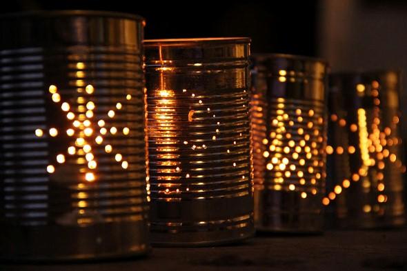 Como montar lanternas de lata para decoração 006