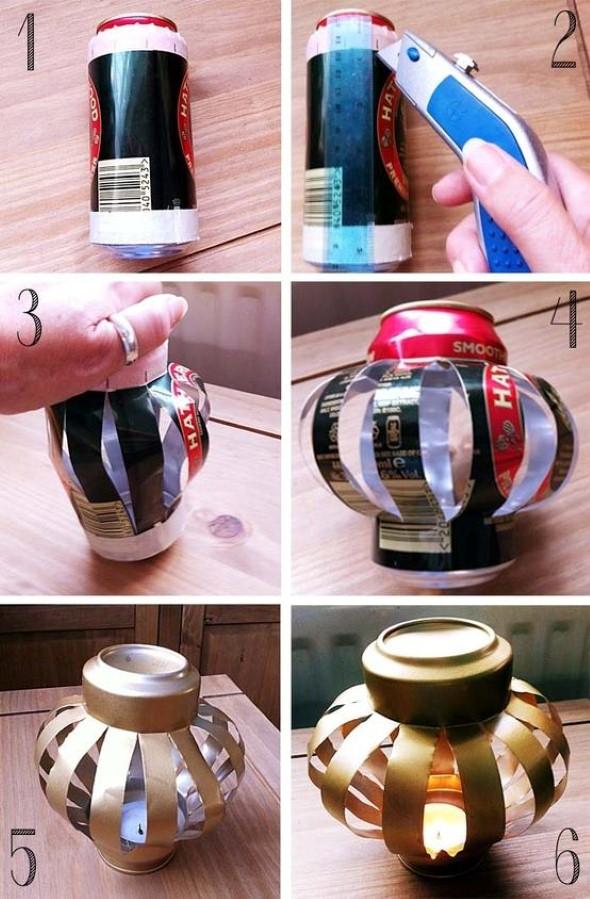Como montar lanternas de lata para decoração 016