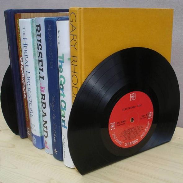 Decoração com disco de vinil 010