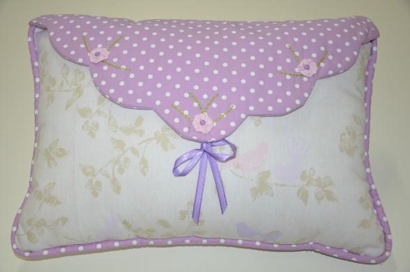 Decoração em patchwork para almofadas e travesseiros 012