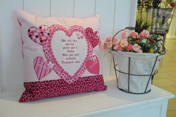 Decoração em patchwork para almofadas e travesseiros 013