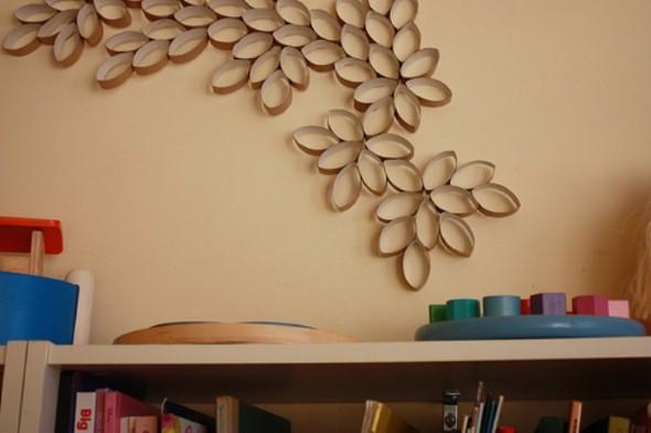 16 dicas de objetos m veis e decora o com papel o - Objetos para decorar paredes ...