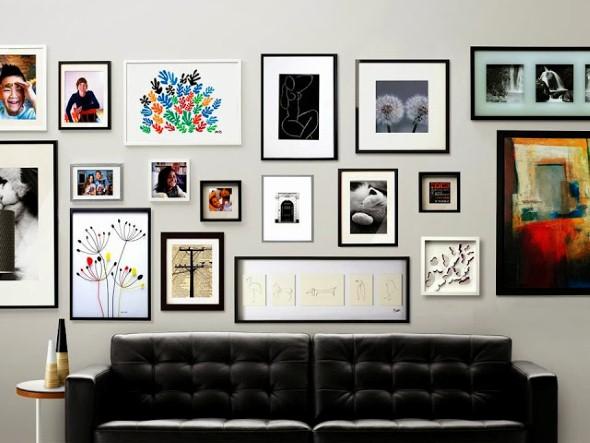Quadros modernos em casa 014