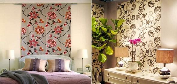 Como decorar paredes com tecido 013