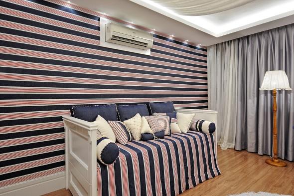 Como decorar paredes com tecido 015