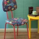 Como reformar cadeira velha para decoração 001