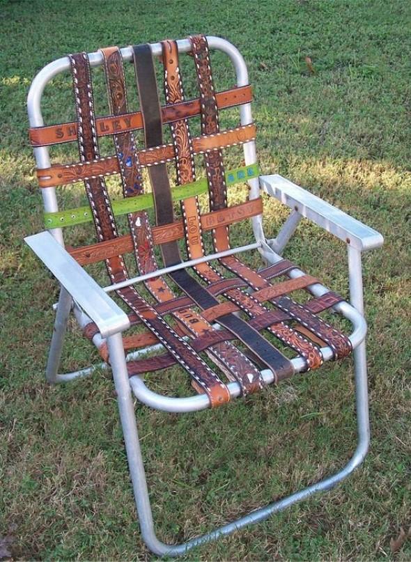 Como reformar cadeira velha para decoração 011