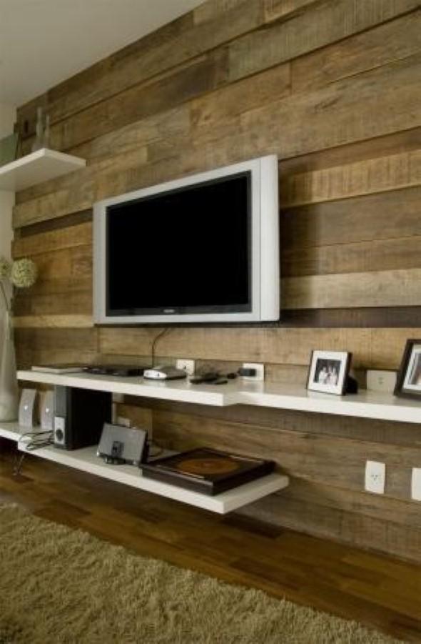 Fotos De Sala Com Tv Lcd Na Parede ~ televisor que vão deixar sua sala de estar ou outros ambientes da