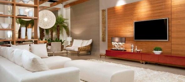 Como Montar Uma Sala De Tv Simples ~ Dicas para montar um painel para TV em casa