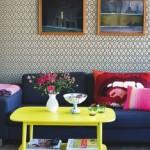 Usar mesas amarelas na decoração 007