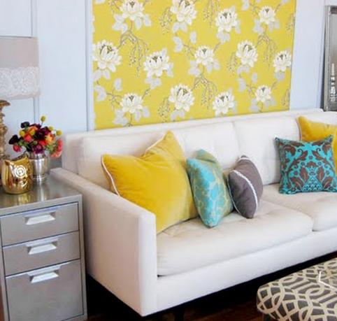 decorar parede com tecido 2