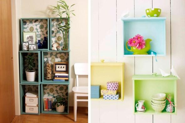 27 idéias criativas para reaproveitar coisas velhas e antigas na decoração -> Decoracao De Banheiro Sustentavel