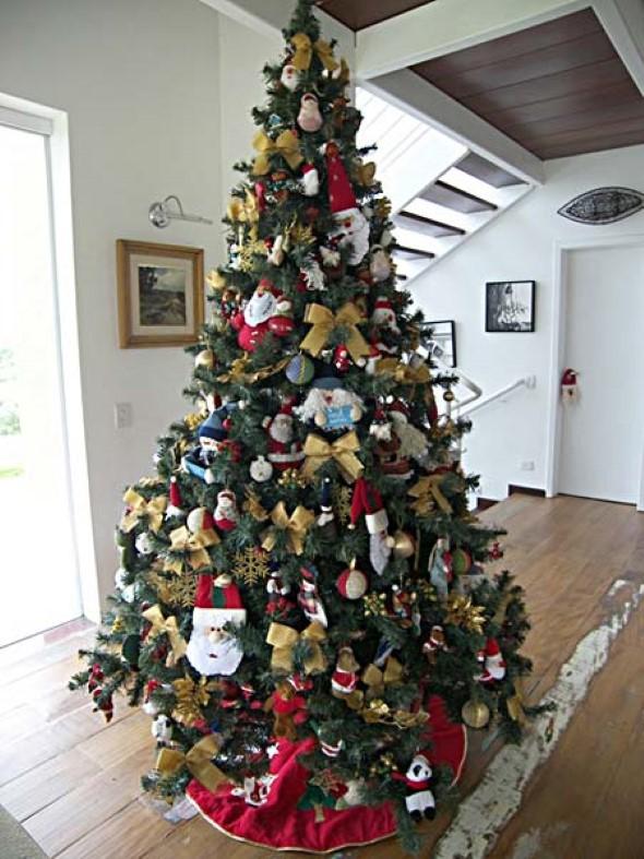 decorar uma arvore de natal : decorar uma arvore de natal:Separamos também estas imagens de árvores de Natal decoradas, e que