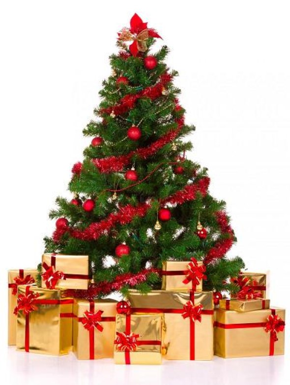 Como decorar a árvore de Natal 003