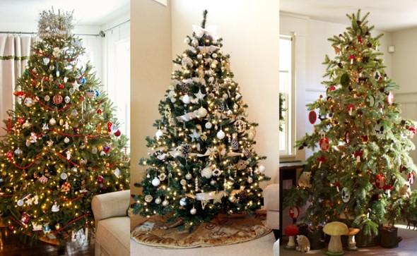 Como decorar a árvore de Natal 006