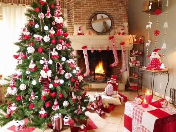 Como decorar a árvore de Natal 007