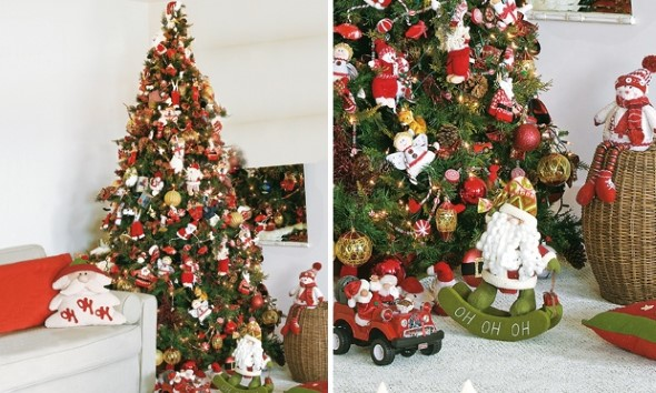 Como decorar a árvore de Natal 008