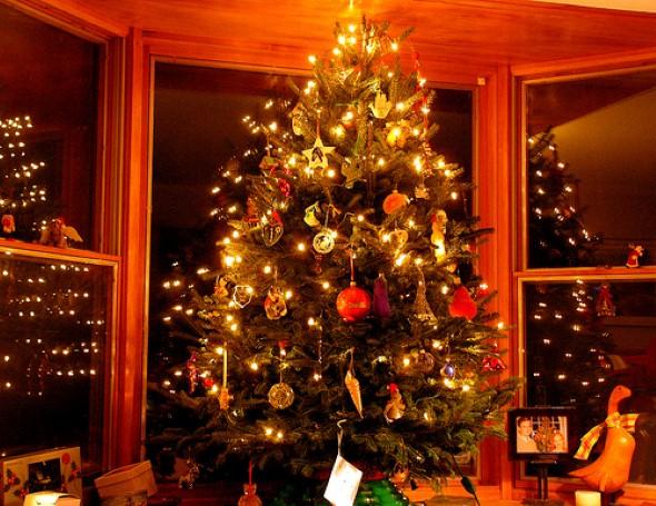 Como decorar a árvore de Natal 009