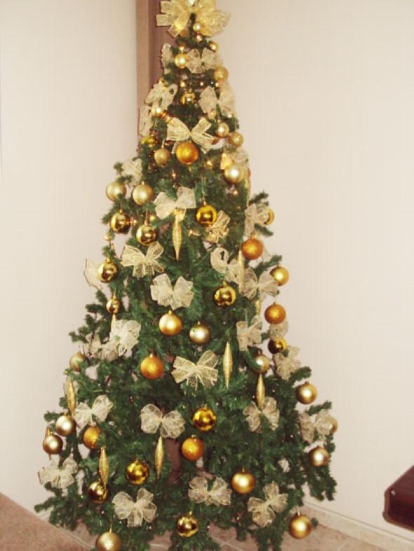 20 idéias de como decorar aárvore de Natal -> Como Decorar Uma Arvore De Natal Simples E Bonita