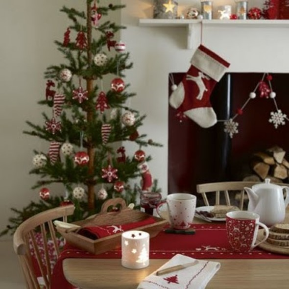 Como decorar a árvore de Natal 014