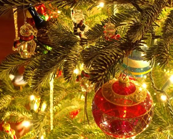 Como decorar a árvore de Natal 015