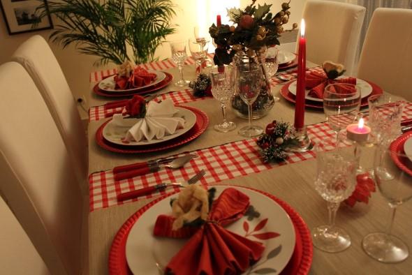 decoracao festa natalina : decoracao festa natalina:Um dos focos na decoração da mesa de natal é a combinação das