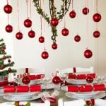 Como decorar a mesa de Natal 012