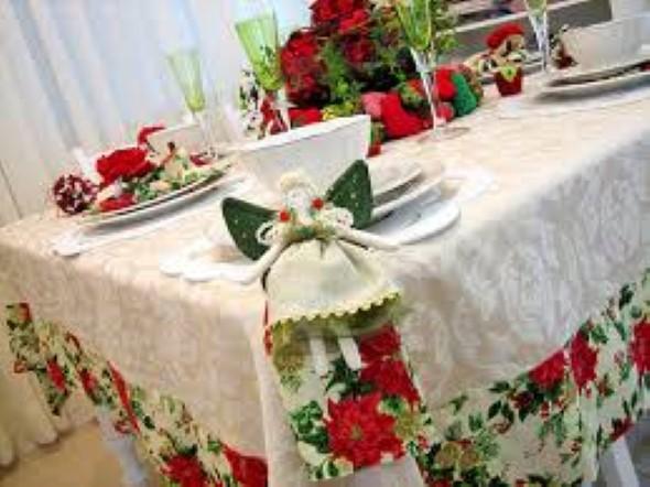 Como decorar a mesa de Natal 014
