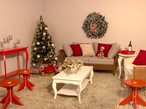 Como Decorar Sala Pequena Para O Natal