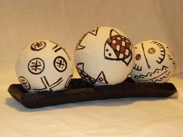 Aparador De Pelos Nariz E Orelha ~ 15 Objetos de decoraç u00e3o feitos de papel mach u00ea Veja o passo a passo