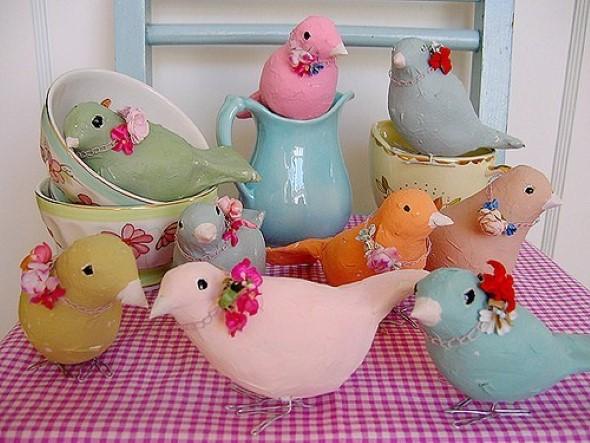 Artesanato Ou Artesanato ~ 15 Objetos de decoraç u00e3o feitos de papel mach u00ea Veja o passo a passo