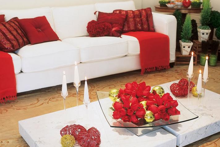 Enfeite De Sala ~ 5 dicas de como fazer a decoraç u00e3o da sala para o Natal e 16 fotos
