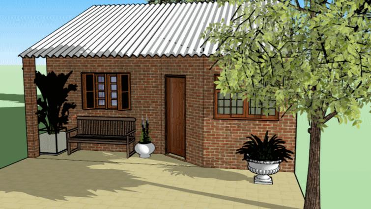 19 fachadas de casas simples e modernas for Modelos de fachadas para frentes de casas