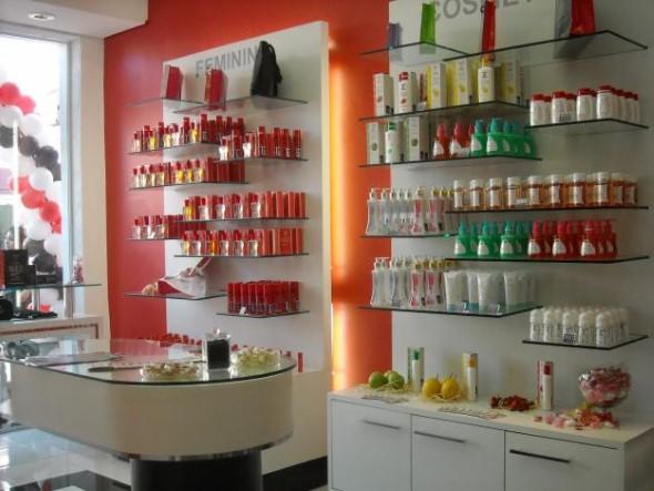 16 idéias de decoraç u00e3o para loja de perfumes 6 dicas interessantes -> Decoração De Loja Pequena De Cosmeticos