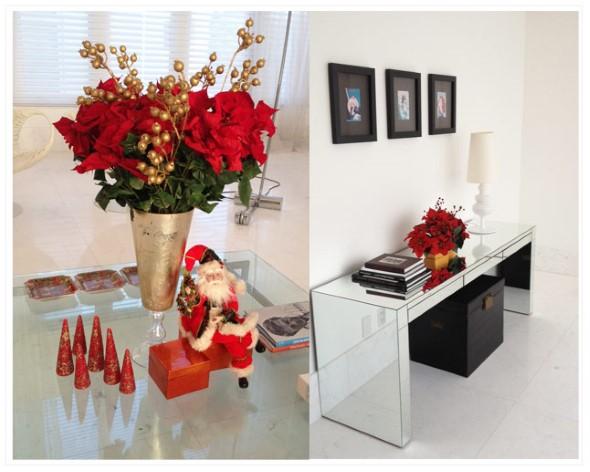 decoracao de natal para interiores de casas: imagens de decoração de natal para vocês fazerem aí na sua casa