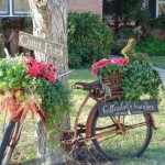 Enfeite para jardim reciclado 010