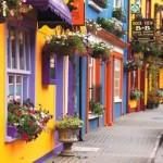 Fachadas de casas coloridas 008