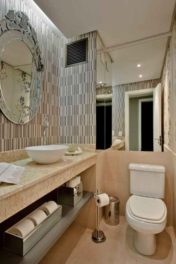 14 modelos de lavabos pequenos e modernos