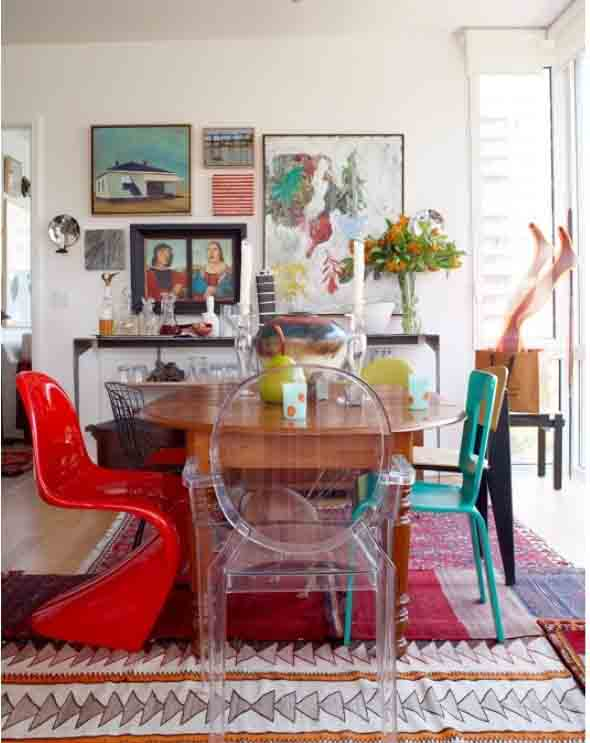 5 dicas de como usar modelos de cadeiras diferentes na - Sedie moderne per tavolo fratino ...