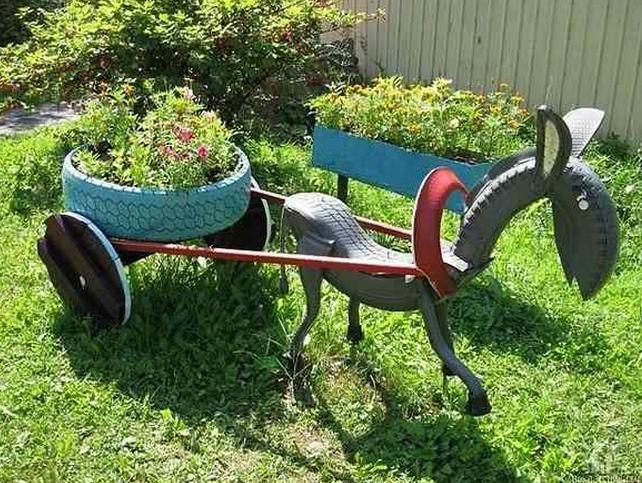enfeites para jardim reciclados:Previous: 20 modelos de fachadas de casas decoradas com 5 dicas