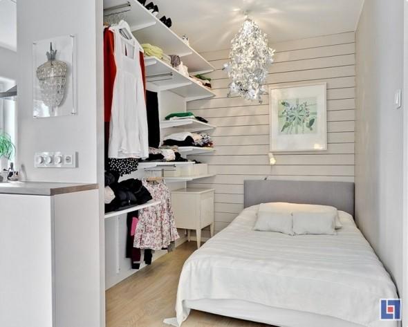6 dicas de como montar closet pequeno e barato para quarto for Como organizar un apartamento muy pequeno