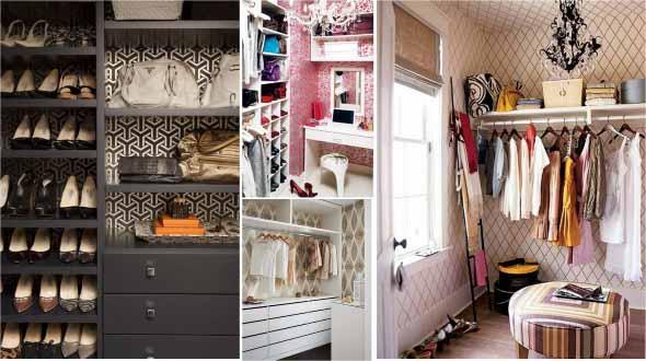 6 dicas de como montar closet pequeno e barato para quarto for Closets para apartamentos pequenos