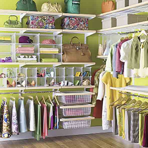 6 dicas de como montar closet pequeno e barato para quarto for Storage ideas for small bedrooms with no closet