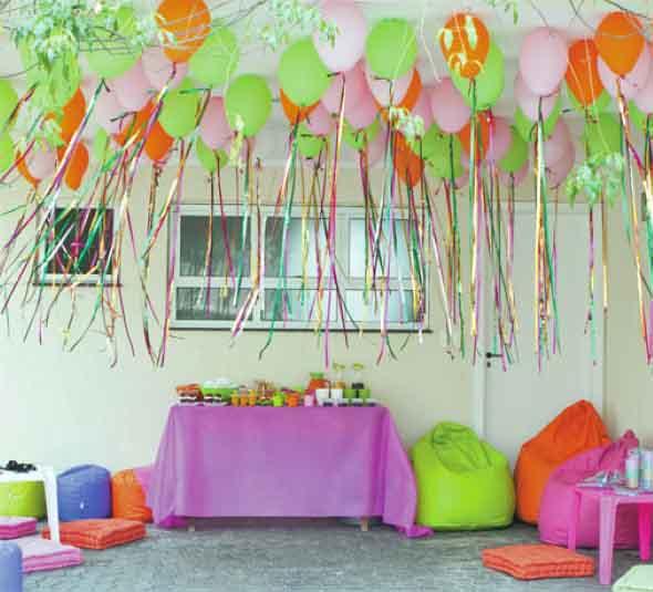 Resultado de imagem para decoração de casa simples para o carnaval