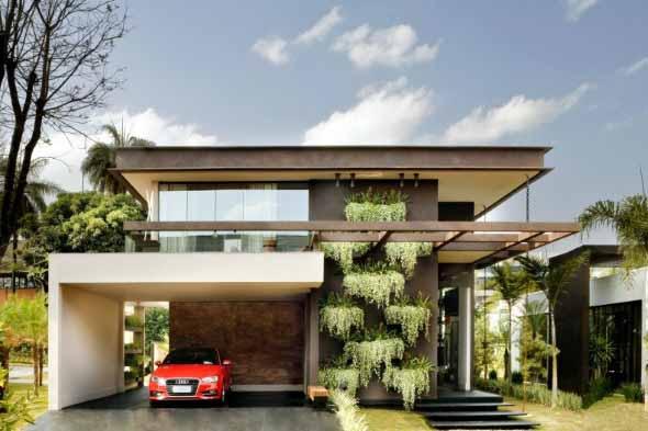 7 dicas para decorar a fachada de casa for Fachada de casas