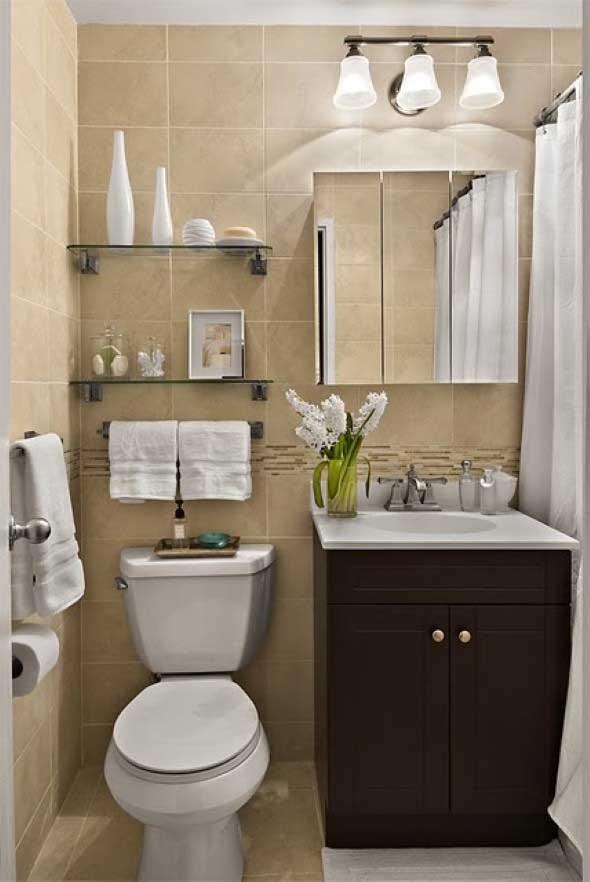decoracao de lavabos pequenos e simples : decoracao de lavabos pequenos e simples:dicas de espelhos pequenos para banheiro e lavabo com 20 modelos