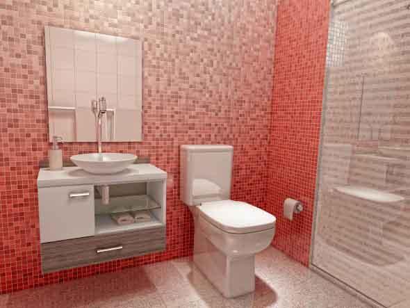 4 dicas de espelhos pequenos para banheiro e lavabo com 20 modelos diferenciados -> Gabinete Com Cuba Para Banheiro Pequeno