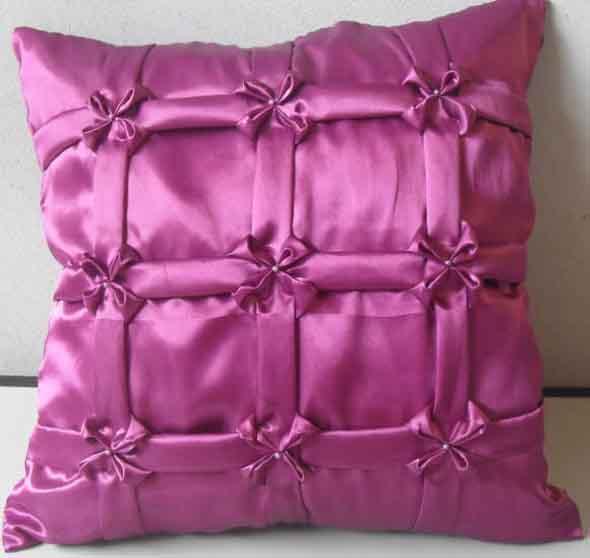 Montar capas para almofadas modernas 001