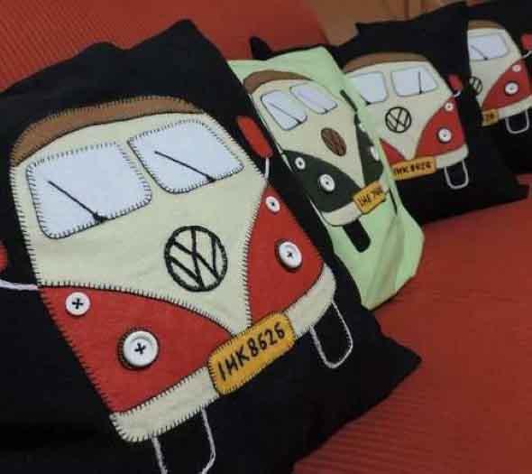 Montar capas para almofadas modernas 016