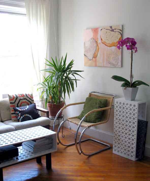 Decorar a sua sala sem gastar muito -> Vasos De Decoração Para Sala Pequena